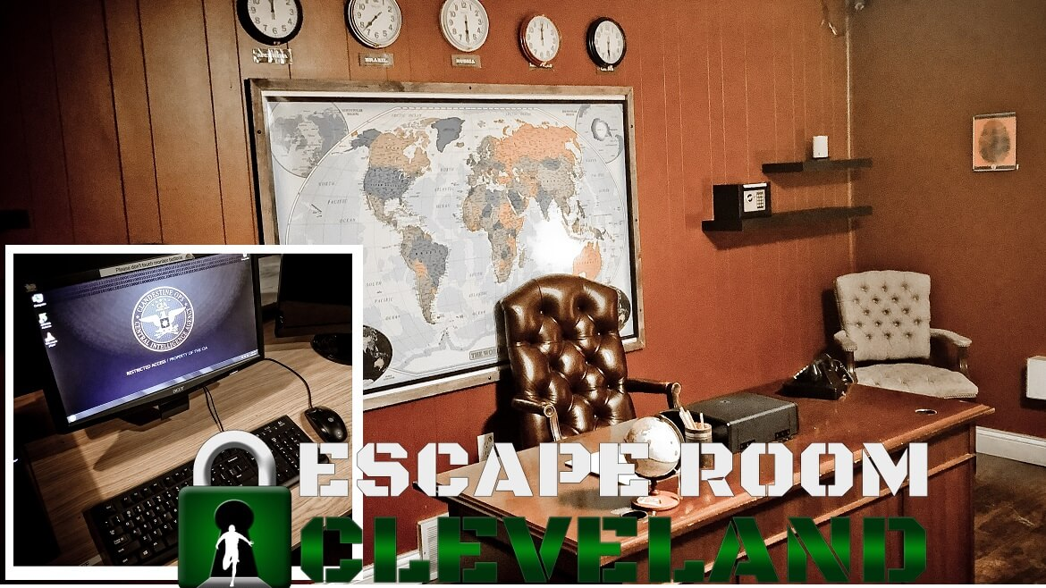 James Bond Escape Room Cleveland